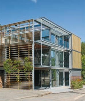 projets d 39 architecture architrave grondal marc architecte. Black Bedroom Furniture Sets. Home Design Ideas